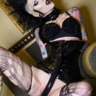 Razor Candi in 'Kinky Tattooed Deathrock Goth Babe Double Dildos'