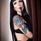 Razor Candi in 'Sleek Sophisticated Black Haired Babe Razor Candi'
