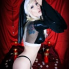Razor Candi in 'Stunning Fetish Nun Razor Candi with Crazy Toys'